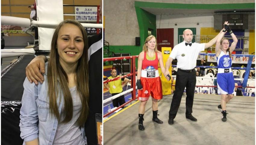 O basarabeancă este noua campioană a Italiei la box!