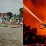 Foto: Ultima oră! Explozie puternică la o bază de odihnă din Zatoca