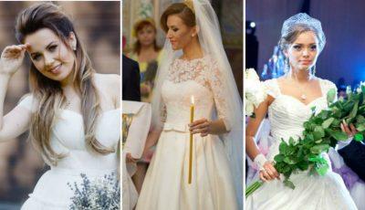 Cum și-au ales rochiile de mireasă, vedetele de-acasă