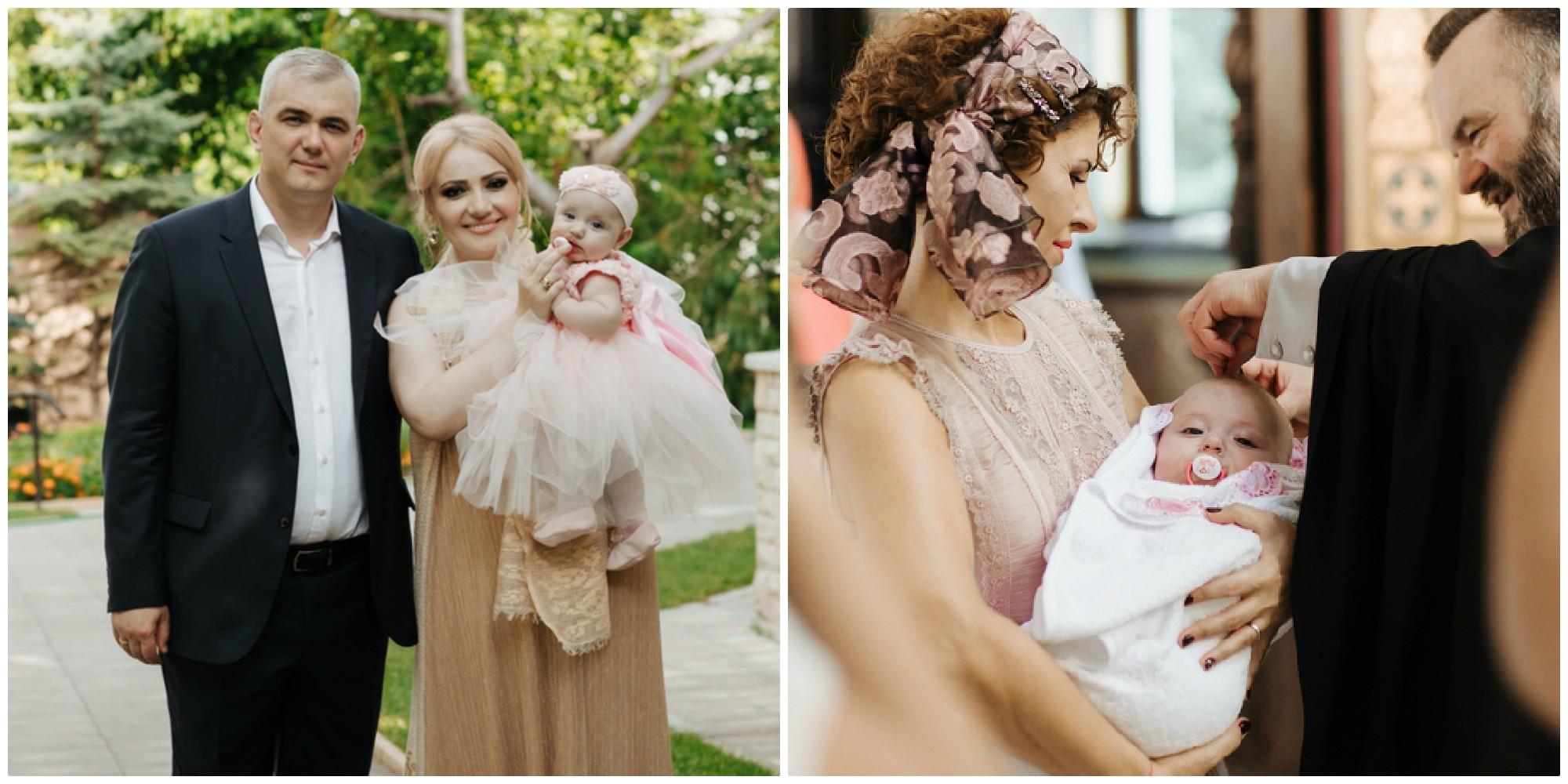 Foto: Foto/video exclusiv de la botezul fiicei Adrianei Ochișanu