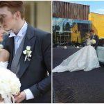 Foto: Poze de la nunta fiului Kristinei Orbakaite