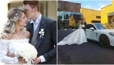 Poze de la nunta fiului Kristinei Orbakaite