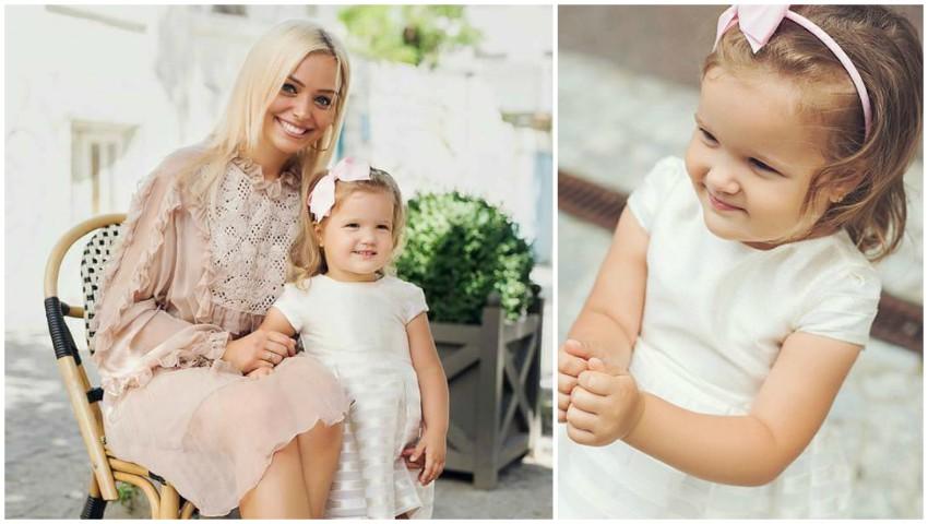 Foto: Fiica Korneliei și a lui Marcel Ștefăneț împlinește astăzi trei anișori! Iată ce mesaj emoționant a postat artista