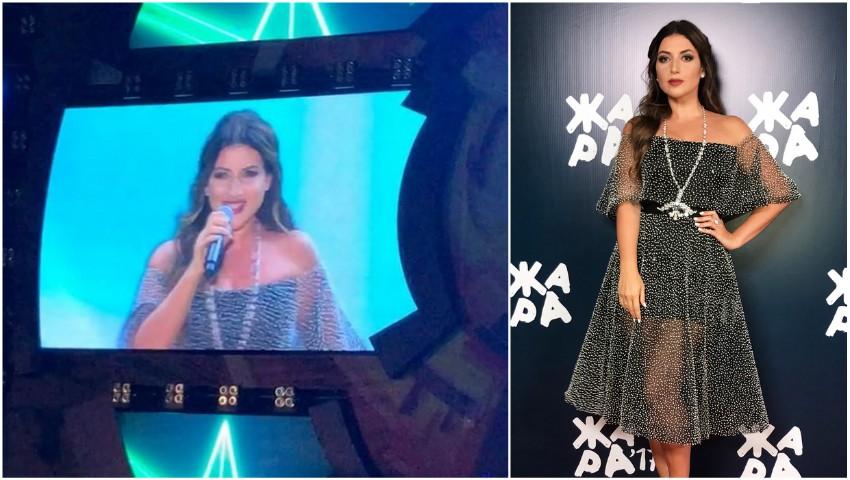 """Foto: Interpreta Jasmin a cântat în limba română piesa ,,Romantică"""" la un festival din Baku!"""