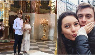Fotbalistul Ion Jardan și aleasa inimii sale, jurnalista Alexandrina Buzu, s-au cununat religios!