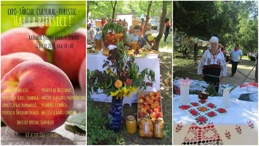 """Foto: ,,Hai la piersici!"""", festivalul piersicilor din satul Tudora își așteaptă vizitatorii la cel mai savuros eveniment al verii!"""