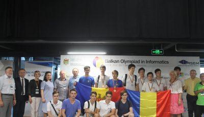 Moldova a luat locul I la Olimpiada Balcanică de Informatică.  Iată cine este câștigătorul