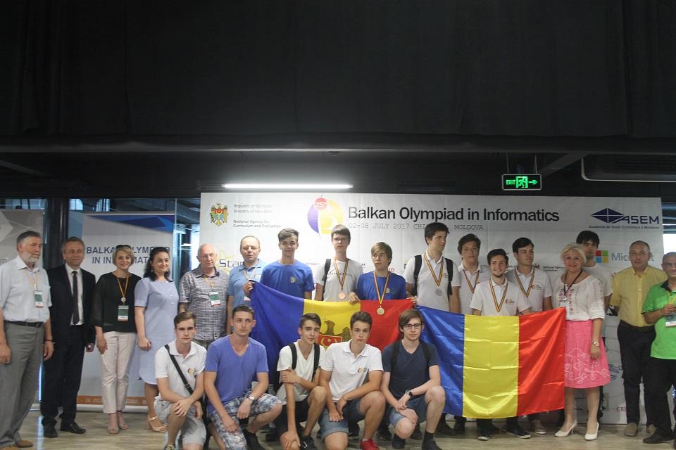 Foto: Moldova a luat locul I la Olimpiada Balcanică de Informatică.  Iată cine este câștigătorul