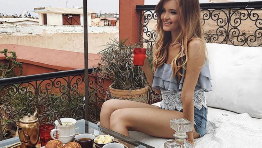Foto: Ce mănâncă Cristina Gheiceanu la micul dejun?