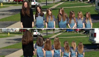 Șase frățiori și-au lăsat părul să crească! Motivul este unul surprinzător