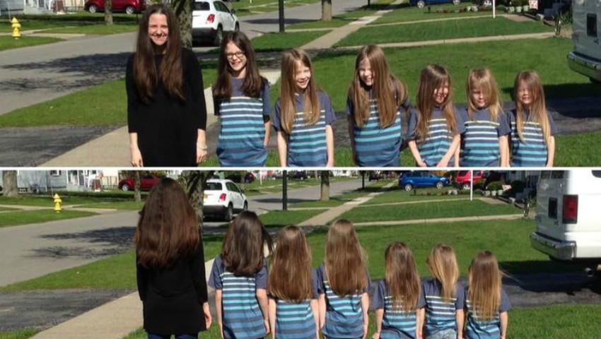 Foto: Șase frățiori și-au lăsat părul să crească! Motivul este unul surprinzător