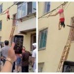 Foto: Sfârșit tragic. Amanta a sărit pe geam când soţia a ajuns acasă!