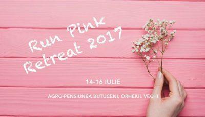 """,,Run Pink Retreat"""" vine în ajutorul femeilor diagnosticate cu cancer!"""