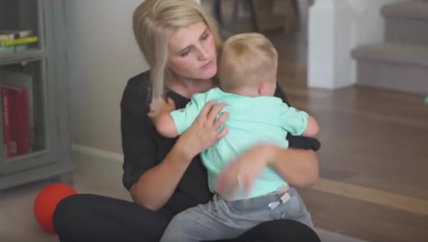 Foto: Mesajul unei mame al cărei copil suferă de sindromul Down, către întreaga lume!
