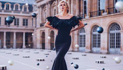 Vera Brejneva, în rochii de seară, extrem de elegante! Vezi poze din timpul unei ședințe foto inedite