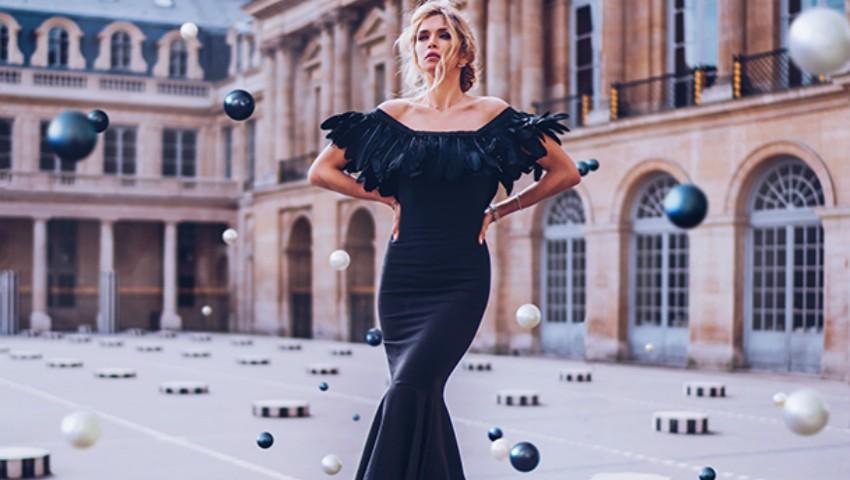Foto: Vera Brejneva, în rochii de seară, extrem de elegante! Vezi poze din timpul unei ședințe foto inedite