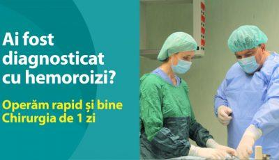 Operăm HEMOROIZII rapid și bine! Chirurgia de 1 zi la Medpark