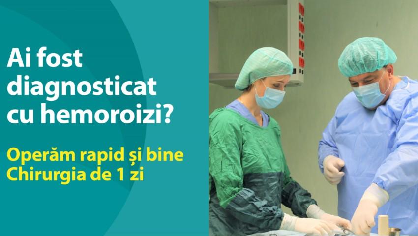 Foto: Operăm HEMOROIZII rapid și bine! Chirurgia de 1 zi la Medpark