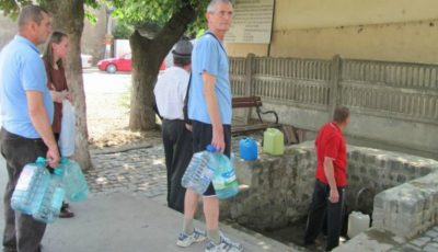 În Capitală a fost instalată o cișmea cu apă potabilă