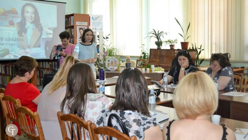 Foto: Turneul Seminarelor de Nutriţie ajunge la Bălţi!
