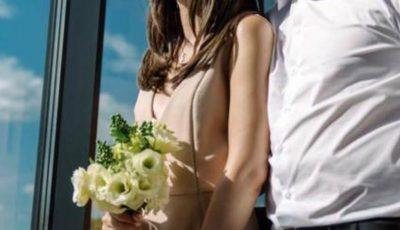 O prezentatoare TV din Moldova a spus adio vieții de burlăciță. S-a măritat!