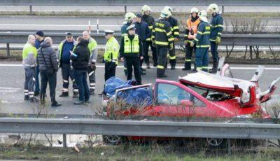 Accident grav în Italia cu o familie de moldoveni. Mama și fetița de 9 luni au avut de suferit