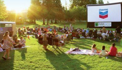 În Chișinău a fost lansat un Cinematograf în aer liber
