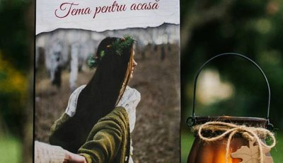 """Romanul """"Temă pentru acasă"""" de Nicolae Dabija acum la 60 % reducere"""