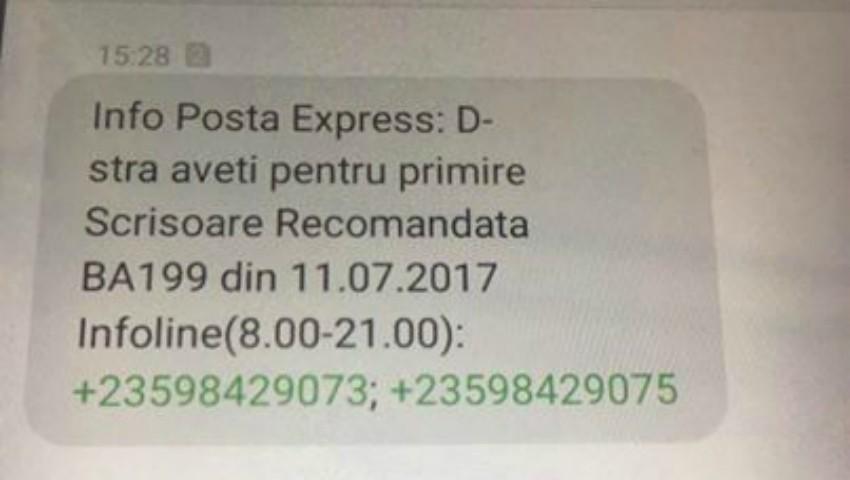 Foto: Atenție! În Moldova a apărut un tip de fraudă prin mesaje