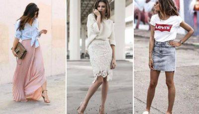 5 Fuste care nu trebuie să lipsească din garderoba unei femei