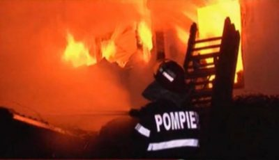 Incendiu de proporții în Capitală