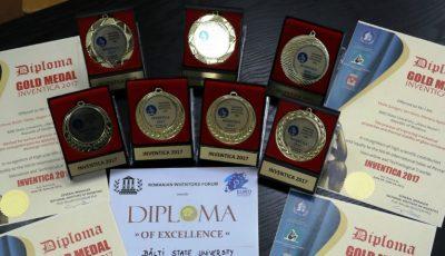 Studenții din Bălți au obținut 7 medalii de aur la un concurs din România