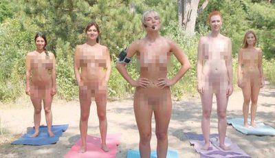 Îndrăznețe femei! Prezentatoarele Tv fac sport în pielea goală