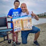 Foto: Concept unic în Europa. Plajă pentru persoane cu dizabilităţi