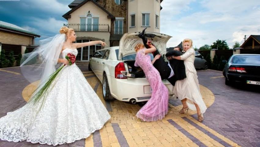 Foto: Cele mai amuzante fotografii de nuntă