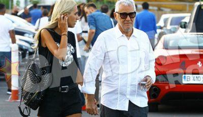 Fiul președintelui Ion Iliescu, Bujor Sion de 62 ani surprins la brațul soției de 27 ani
