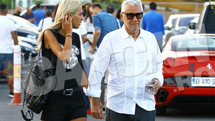 Foto: Fiul președintelui Ion Iliescu, Bujor Sion de 62 ani surprins la brațul soției de 27 ani