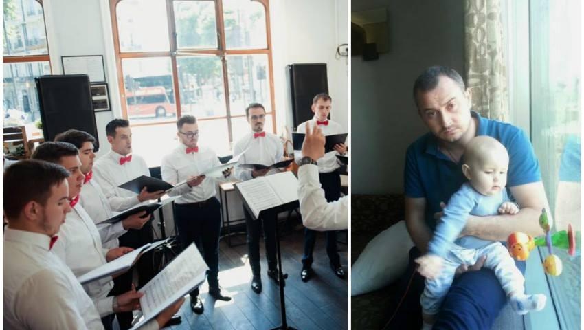 Foto: Moldovenii din Londra au organizat un concert caritabil pentru a-l ajuta pe micuțul Teodor