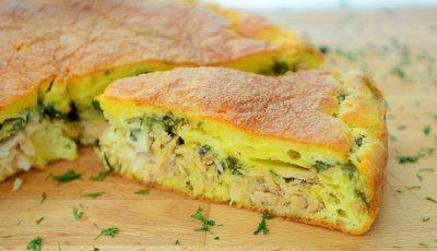 Food bloggerița, Liuba Florica, stârnește poftele gurmanzilor. Află rețeta checului cu ton