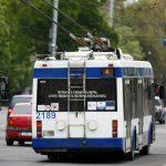 Foto: De astăzi, o rută de troleibuz din Capitală și-a schimbat traseul