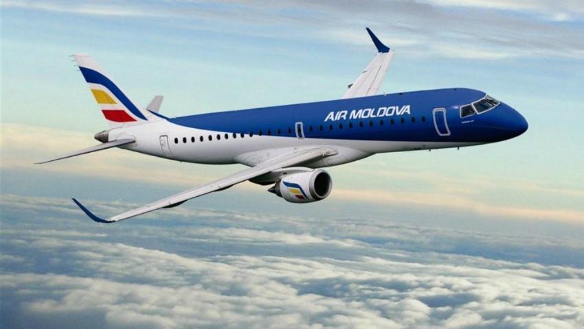 Foto: Compania Air Moldova va recompensa pasagerii cursei Roma-Chișinău! Motivul pentru care aeronava s-a reținut