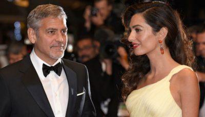 George Clooney a dat în judecată o revistă franceză care a publicat o fotografie cu gemenii săi