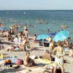 Foto: Un copil din Moldova s-a pierdut pe plajă, la Odessa!