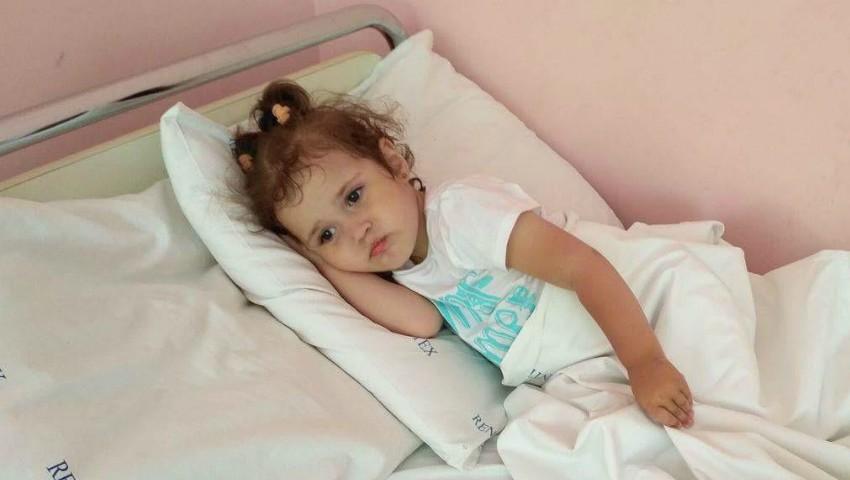 Foto: La doar un an și 10 luni, Valeria a fost diagnosticată cu cancer. Să o ajutăm împreună!