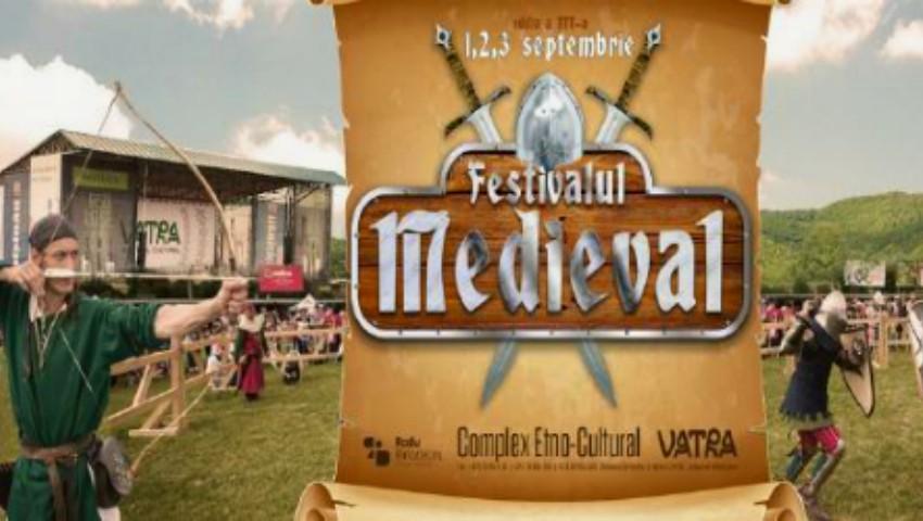 Foto: Centrul Cultural Vatra te invită la Festival Medieval 2017!