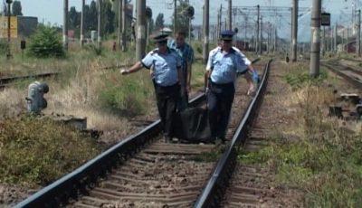 Tragic! Un bărbat din Capitală, în vârstă de 30 de ani, a murit pe loc după ce a fost lovit de un tren marfar