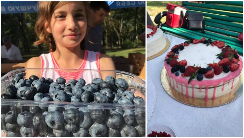"""Foto: Arome, culori și gusturi irezistibile de pomușoare la cea de-a treia ediție a târgului agro-gastronomic """"SUMMER BERRY FAIR""""!"""