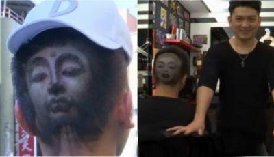 Uimitor! Un frizer din Taiwan sculptează în păr chipul vedetelor