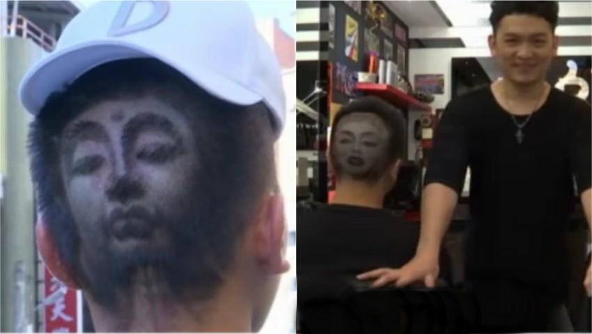 Foto: Uimitor! Un frizer din Taiwan sculptează în păr chipul vedetelor