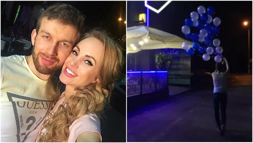 Foto: Vezi ce surpriză i-a făcut Kătălina Rusu iubitului ei la miez de noapte! Video